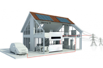 Solar + Storage Home Energy System