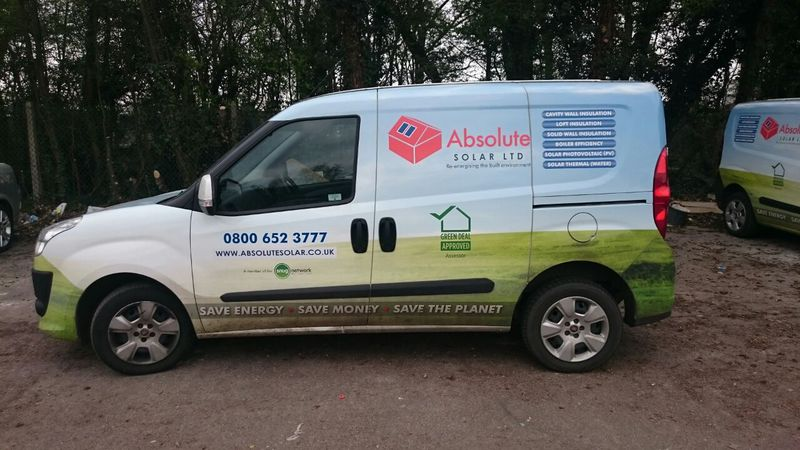Absolute Solar specialist installer of cavity wall insulation.