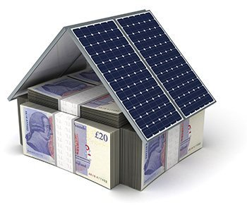 Turn your roof into an energy plant.