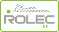 Rolec EV charging points logo working with Absolute Solar